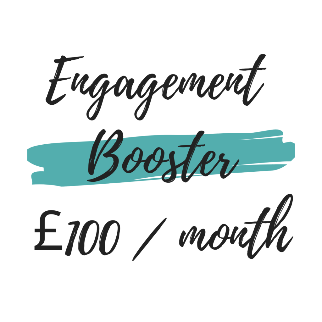 Social Media management engagement booster